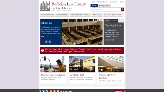 Bodleian Law Library