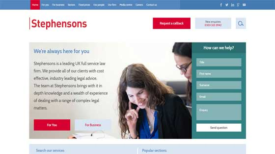 Stephensons Solicitors London