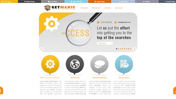 One of the top SEO Companies in the UK - Get Manic