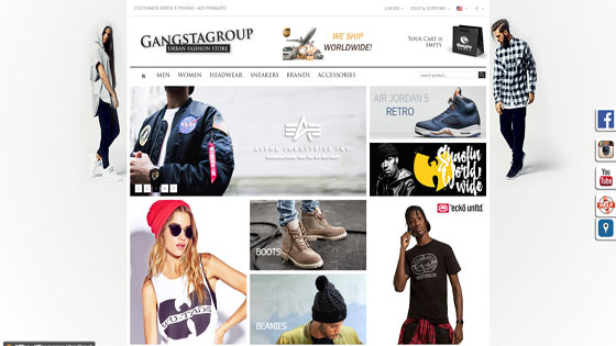 Urban clothing websites for women