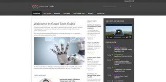 Good Tech Guide technology website