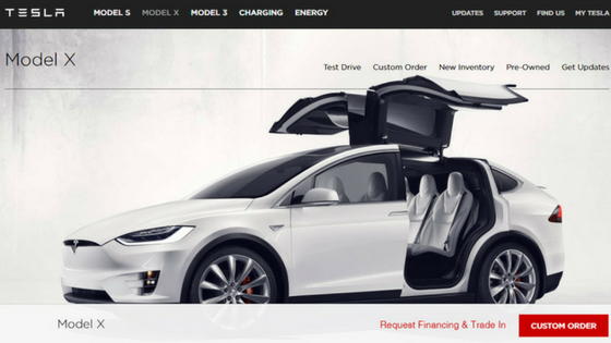 Tesla Model X Luxury Cars