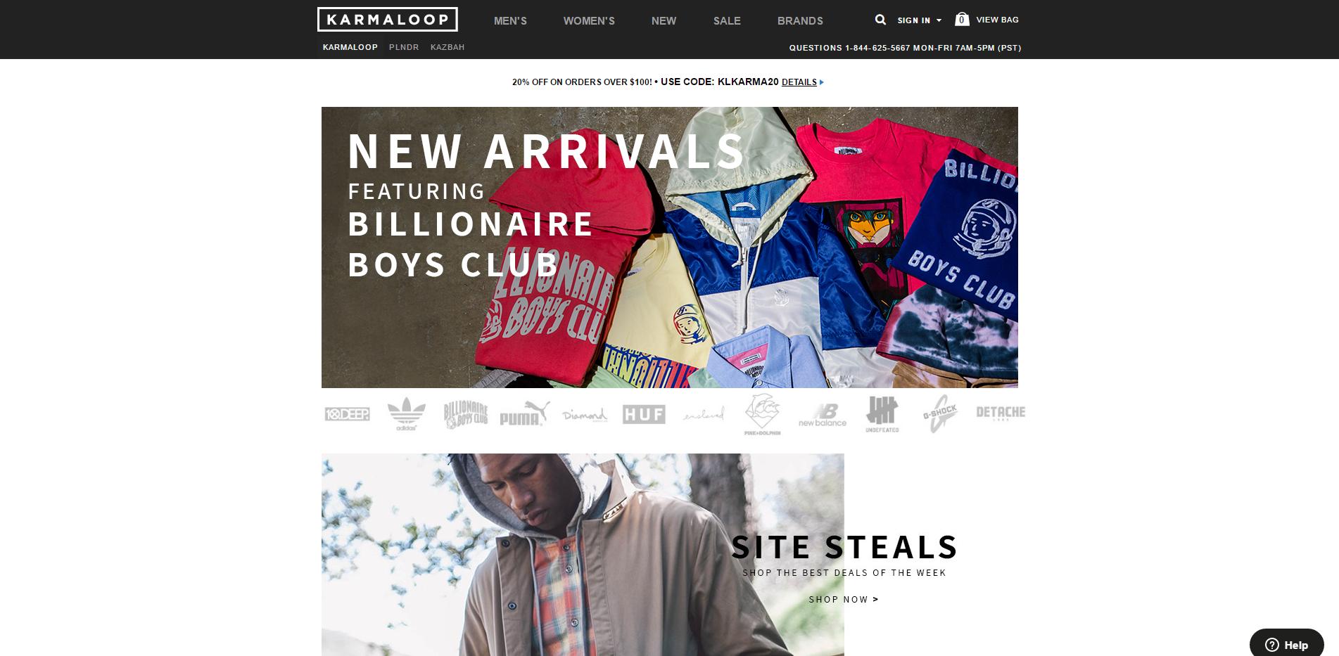 Karmaloop urban clothing