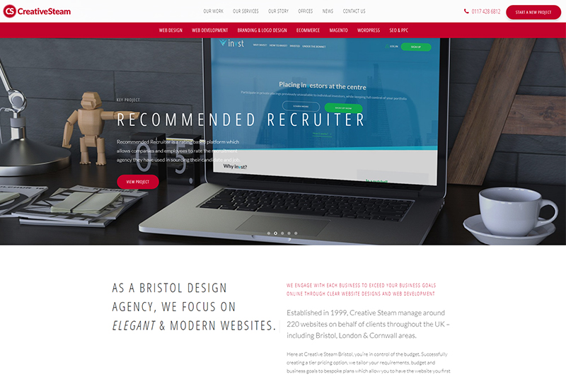 Web Design In Bristol Top Website Designers Local Companies