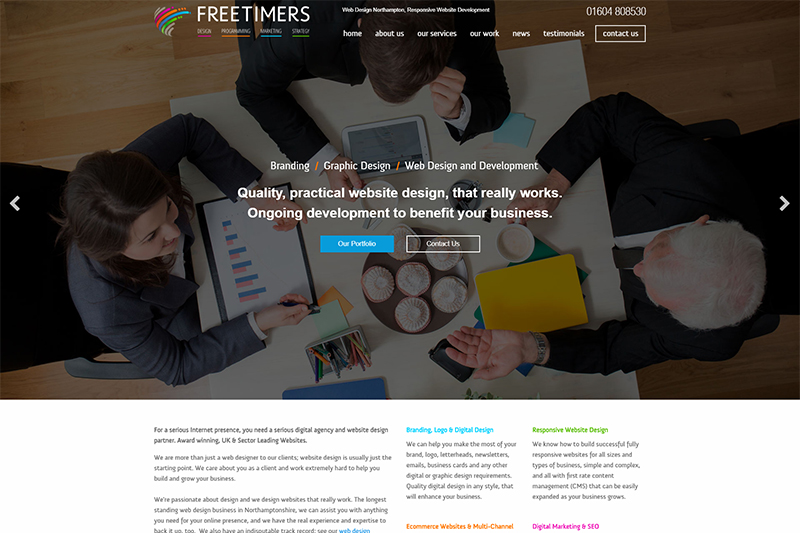 Web Design In Northamptonshire Top Website Designers Local Companies