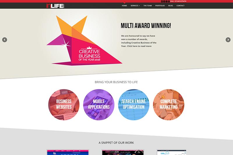inLIFE digital marketing agency Staffordshire