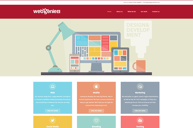 Web Genie in Dunstable