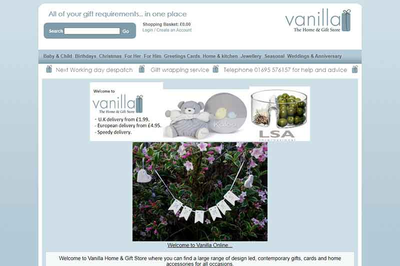 Vanilla Home and Gift Store