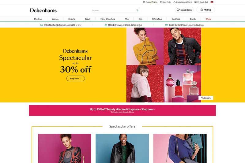 Debenhams Retail Ltd