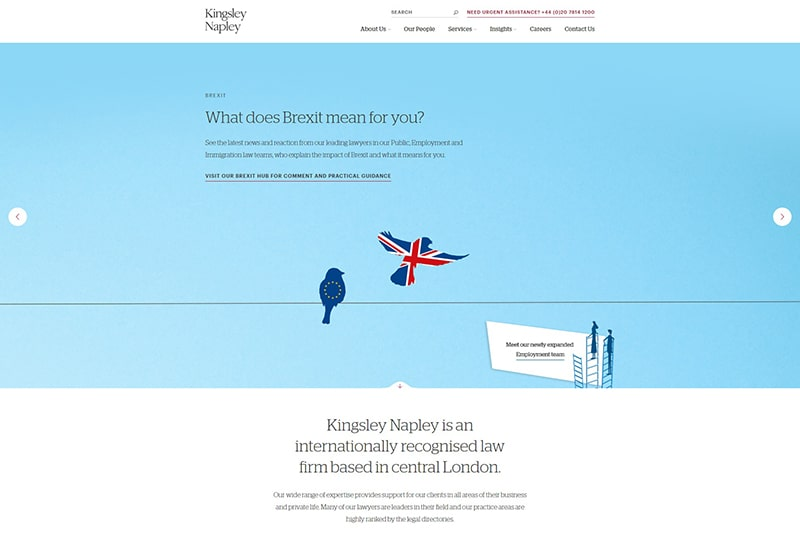 Kingsley Napley solicitors London