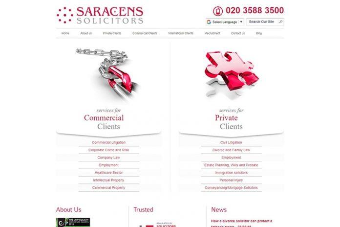Saracens Solicitors in London UK