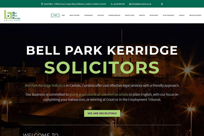 Bell Park Kerridge Solicitors Cumbria