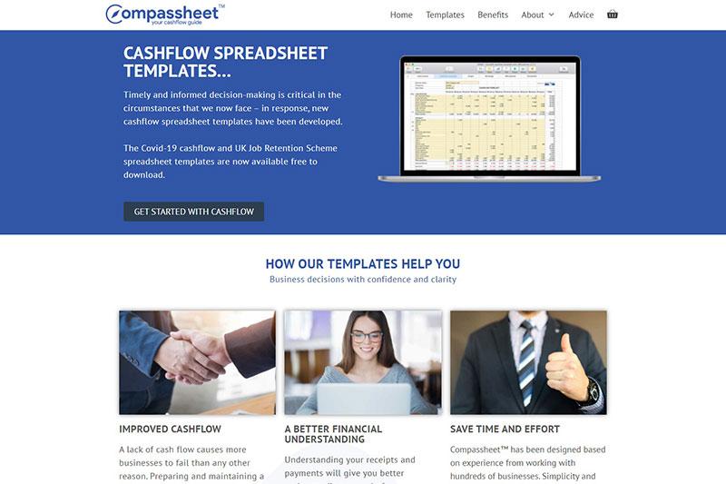 Compassheet cashflow template